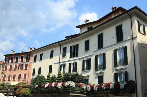 Antica Casa Italiana Con Terrazza Fiorita Lecco Italia