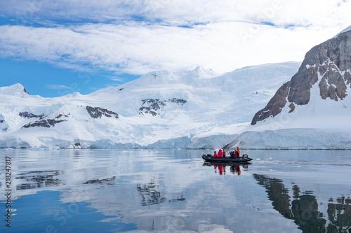 Fotografia landscape of south pole