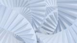 Fototapeta  - stair abstrat illusion background. 3D Illustration