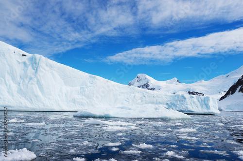 Fotografía landscape of south pole