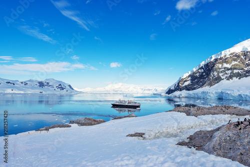 Carta da parati landscape of south pole