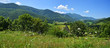 Panorama du Vallée de Baronnies, Esparros, Hautes-Pyrénées France