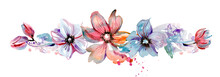 Cute Watercolor Hand Painted F...