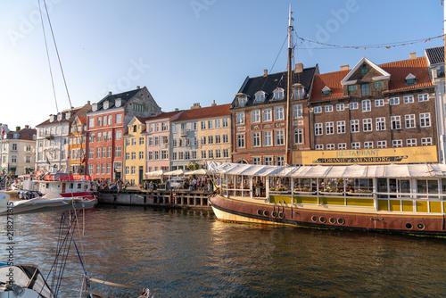 Photo  Nyhavn of Copenhagen, Denmark