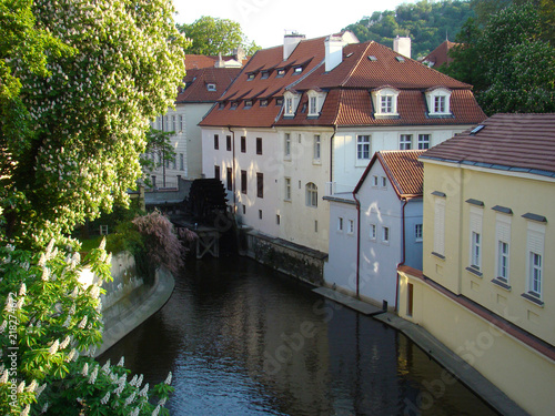 Fototapeta Praga praga-kanal-zeglugowy