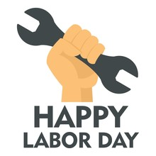 Happy Labor Day Key In Hand Lo...