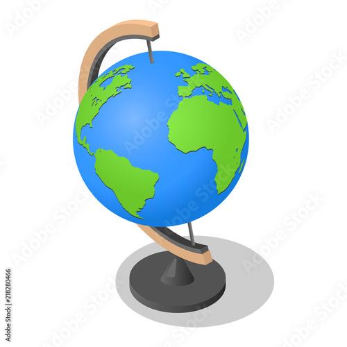 Fotografia, Obraz  Geography globe earth school icon