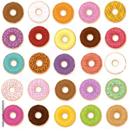 Fényképezés Donut varieties