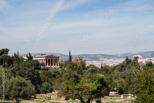 Photo  Temple of Hephaestus in Athens, Greece