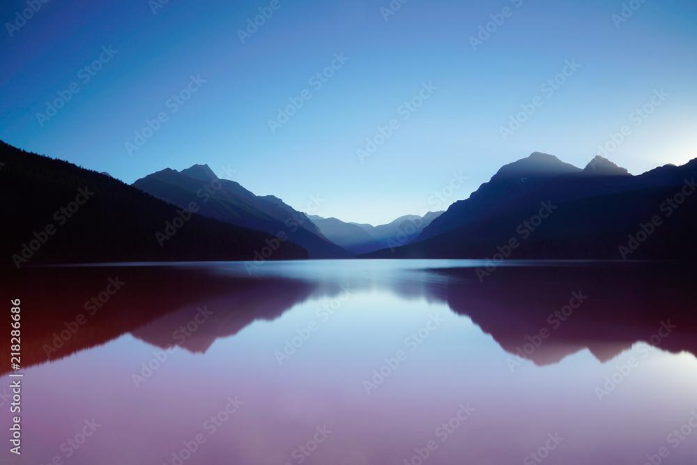 Fototapeta Glass Lake