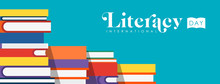Literacy Day Web Banner Of Chi...