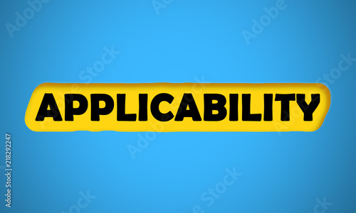 Applicability Wallpaper Mural