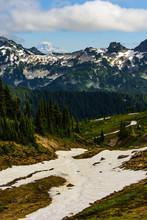Glacier Mount Rainier