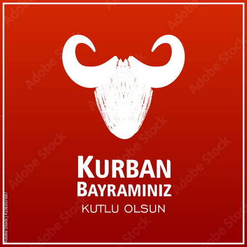 kurban bayrami  illustration  Muslim holiday Eid al-Adha