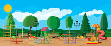 Kids Playground Kindergarten P...