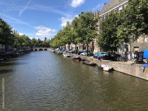 Photo  Amsterdam Central Canal