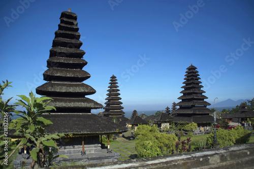 Gopuras or towers of Pura besakih temple, Indonesia