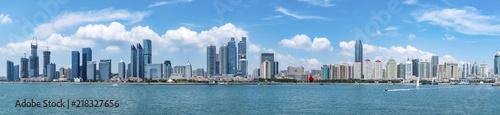 Foto op Plexiglas Chicago Qingdao modern urban scenery coastline
