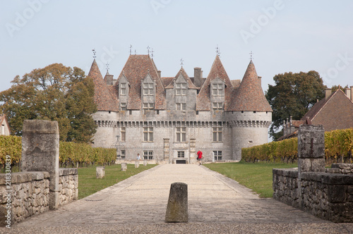 Carta da parati Chateau Monbazillac