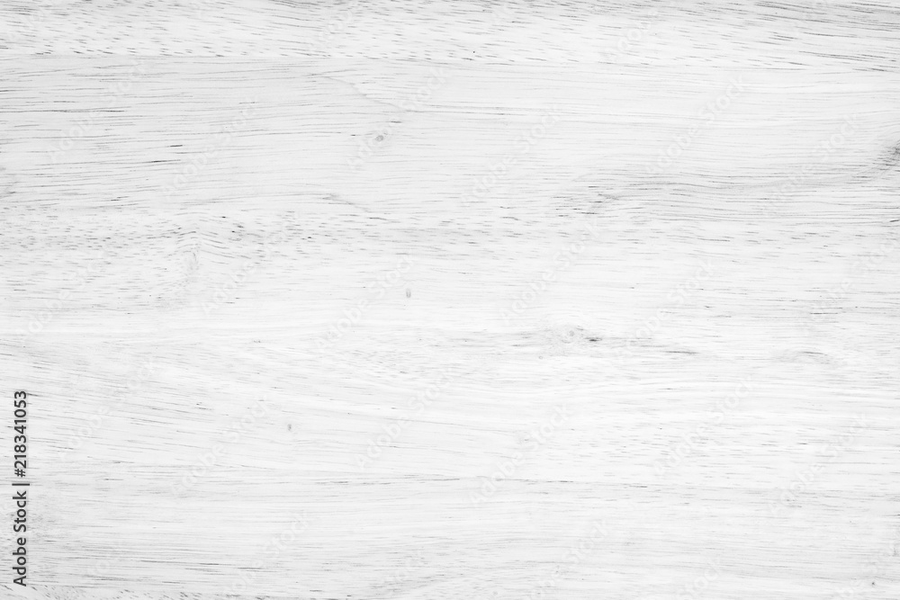 Fototapety, obrazy: White washed soft wood surface as background texture wood
