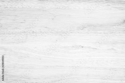 plakat White washed soft wood surface as background texture wood
