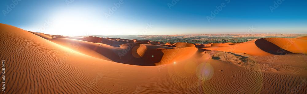 Fototapeta Desert Rub' al Khali, Emirates, Abu Dhabi, Liwa, Jan.2018