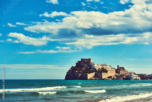 Castillo Del Papa Luna Spain Buy This Stock Photo And Explore