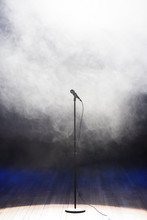 Live Music Background.Micropho...