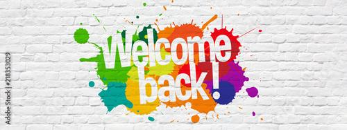 Fotografie, Obraz Welcome back !