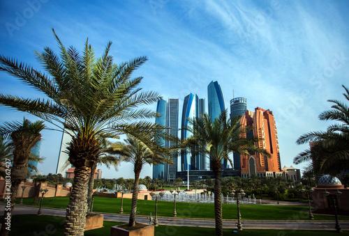 In de dag Abu Dhabi