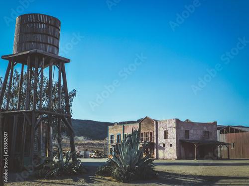 Photo Tabernas. Poblado  western en Almeria. Andalucia, España