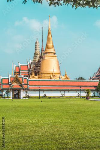 Tuinposter Boeddha Wat Phra Kaew (Temple of the Emerald Buddha), Bangkok, Thailand