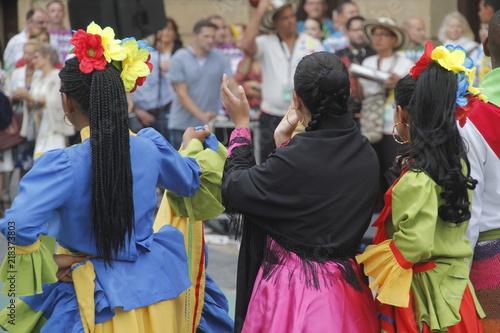 Fotobehang Zuid-Amerika land Cumbia colombiana
