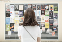 University Student Is Reading Announce