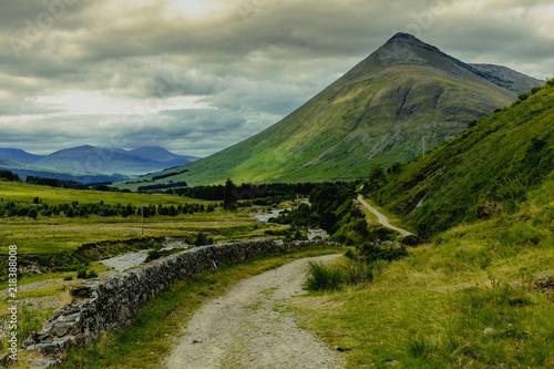 Fototapeta Scotland Highlands Landscape in Bridge of Orchy Nature Travel obraz