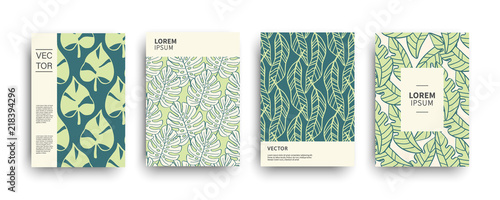 Tropic nature exotic covers set