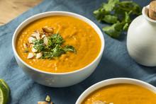 Homemade Thai Sweet Potato Soup