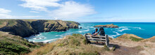 Couple At Mullion Cove West Co...