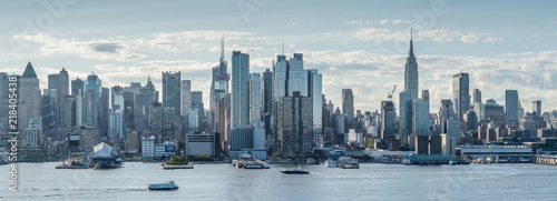 Panoramic View of New York City, Midtown