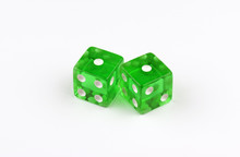 A Pair Of Green, Translucent G...
