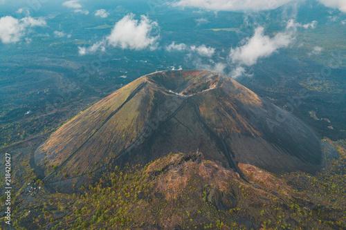 Plakat Zadziwiający widok Paricutin wulkan w Michoacan, Meksyk