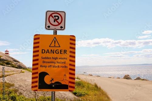 Poster Route 66 Danger