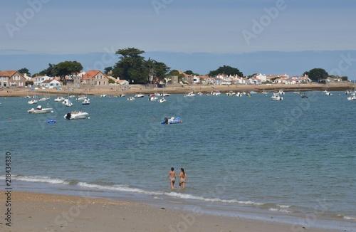 Fotografía  La Claire beach, Le Vieil, Noirmoutier, France