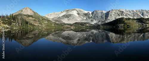 Mountain Reflections Wallpaper Mural