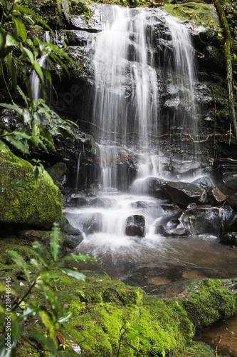 saitip waterfall Phu Soi Dao National Park thailand