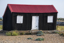 Iconic Red & Black Building At Rye Harbour