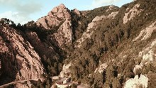 Aerial View Of Calanche Of Piana