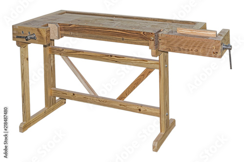 Obraz The carpentry workbench - fototapety do salonu