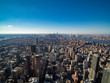 landscape from Empire State Building at New York City エンパイアステートビルからのニューヨークの景色