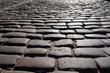 Ancient stone sett paving.